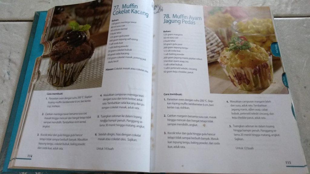 Buku 400 Resep Kue & Minuman Terfavorit Sisca Soewitomo, muffin
